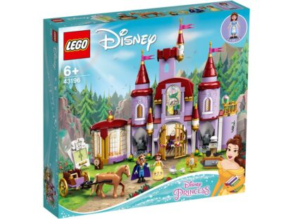 LEGO® Disney Princess 43196 Belle and the Beast's Castle
